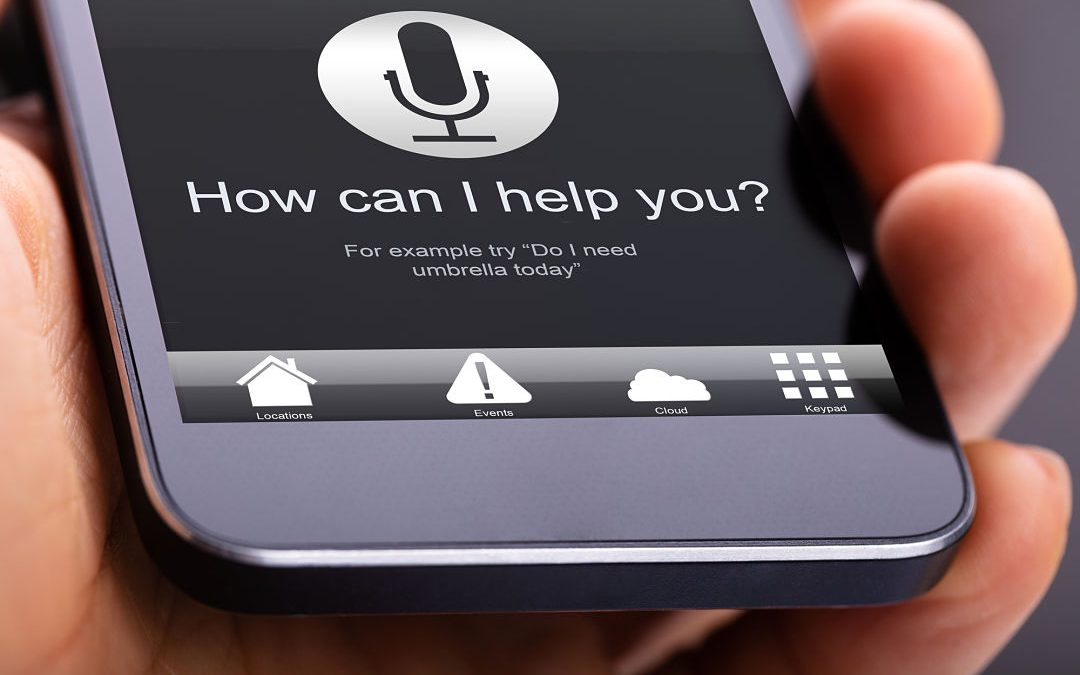 Smart phone offering help through voice marketing
